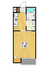 ルレーヴ新習志野[2階]の間取り