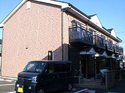 愛知県一宮市木曽川町内割田字祭勝の賃貸アパートの外観