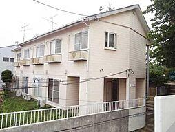 神奈川県川崎市多摩区南生田6丁目の賃貸アパートの外観