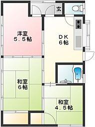 [一戸建] 茨城県筑西市茂田 の賃貸【/】の間取り