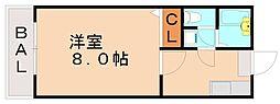 アドコート[2階]の間取り
