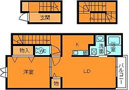 ウィンドミルヤマト[3階]の間取り