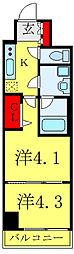 都営三田線 西巣鴨駅 徒歩7分の賃貸マンション 1階2Kの間取り