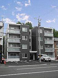 北海道札幌市中央区北七条西18丁目の賃貸マンションの外観