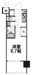 レジディア新大阪[212号室]の間取り