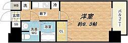 JPレジデンス大阪城南[8階]の間取り