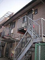 神奈川県川崎市高津区下作延の賃貸アパートの外観