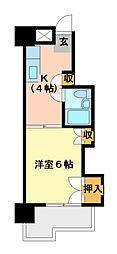 アネックス西桜[5階]の間取り
