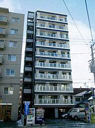 北海道札幌市北区北十三条西3丁目の賃貸マンションの外観
