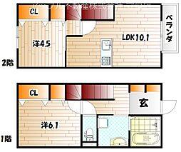 仮)D-room企救丘[102号室]の外観