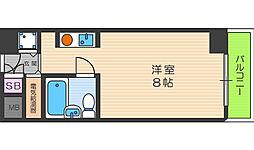 天満メゾン中塚[5階]の間取り