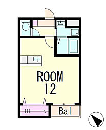 ブロッサムハウス[2階]の間取り