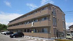 ベルヴューA棟[2階]の外観
