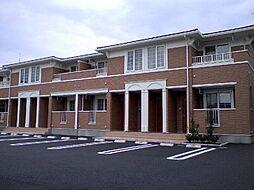 栃木県芳賀郡益子町大字大沢の賃貸アパートの外観