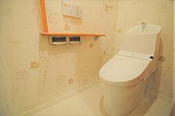 アーバンパレス六ツ門セントラルベースのコンパクトで使いやすいトイレです