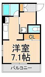 ボナールUSUKURA[305号室]の間取り