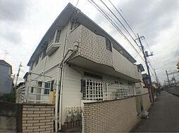 千葉県柏市常盤台の賃貸アパートの外観