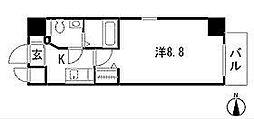 エステムプラザ名古屋栄プレミアム[13階]の間取り