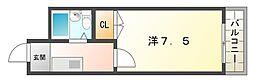 第2シャトー三ツ島[1階]の間取り