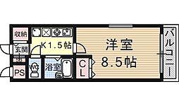 KYOマンション[101号室号室]の間取り