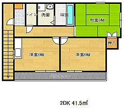 [一戸建] 兵庫県神戸市長田区海運町3丁目 の賃貸【/】の間取り