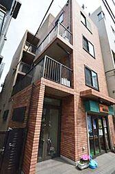 東京都新宿区納戸町の賃貸マンションの外観