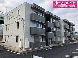 愛知県名古屋市緑区南大高4丁目の賃貸アパートの外観