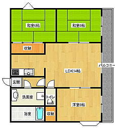 FINESS 4[3階]の間取り