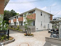 和歌山県紀の川市貴志川町長山の賃貸アパートの外観