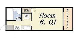ラ・ジェンテ25[6階]の間取り