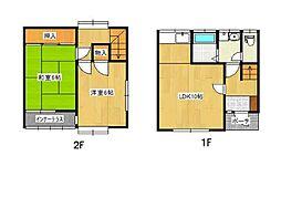 [タウンハウス] 東京都江戸川区松江2丁目 の賃貸【/】の間取り