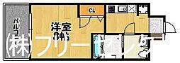 ピュアドーム箱崎ステーション[5階]の間取り