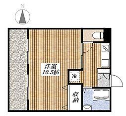 シモビル[4階]の間取り