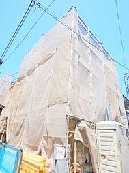 東京都北区十条仲原3丁目の賃貸アパートの外観