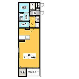 コンフォルタ[1階]の間取り