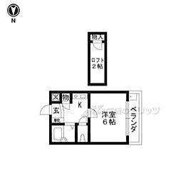 富野荘駅 2.6万円