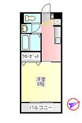 B.I.D[2階]の間取り