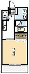 宮崎県宮崎市学園木花台西1丁目の賃貸マンションの間取り
