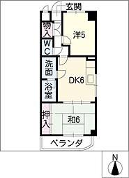 第二長岡ビル[2階]の間取り