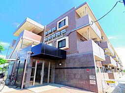 東京都清瀬市中清戸4丁目の賃貸マンションの外観