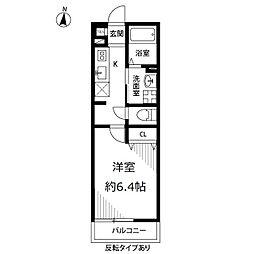 アムール Miwa[103号室]の間取り