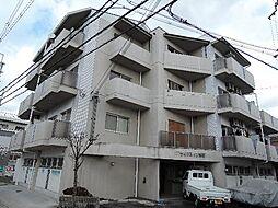 京都府宇治市五ケ庄西浦の賃貸マンションの外観