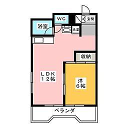 メゾン水戸[3階]の間取り