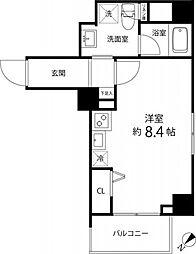 ハイリーフ上野[604号室号室]の間取り