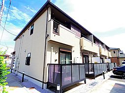 東京都東村山市久米川町3丁目の賃貸アパートの外観