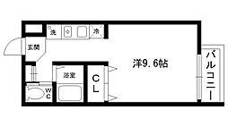 エトール夙川[205号室]の間取り