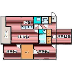 NOAII[2階]の間取り