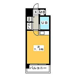 ステイタスマンション博多駅前[5階]の間取り