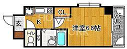 ラナップスクエア京都北野[203号室号室]の間取り