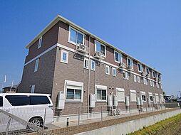 奈良県磯城郡田原本町大字保津の賃貸アパートの外観